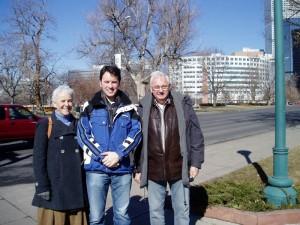 David Pipe and Parents, Denver, Colorado